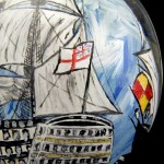 Victory and Golden Hind (2)
